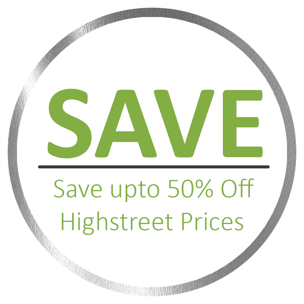 Save Upto 50% On Highstreet Prices