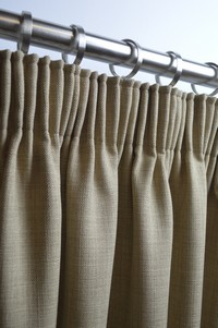 Pencil Pleats Double Fullness