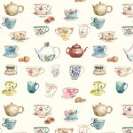 Afternoon Tea Cream Roller Blind