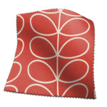 Made To Measure Curtains Orla Kiely Linear Stem Tomato
