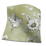 Made To Measure Curtains Finch Toile Willow Flat Image