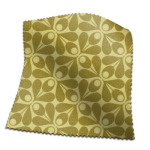 Made To Measure Curtains Woven Acorn Cup Yellow Olive