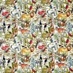 Made To Measure Roman Blinds King Of The Jungle Safari Swatch