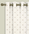 Eyelet Curtains Dotty Natural