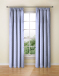 Made To Measure Curtains Dotty Powder Blue
