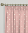 Pencil Pleat Curtains Dotty Rose