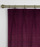 Pinch Pleat Curtains Pulse Velvet Claret