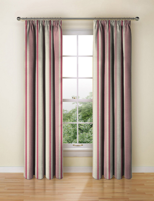 Made To Measure Curtains Belle Raspberry A