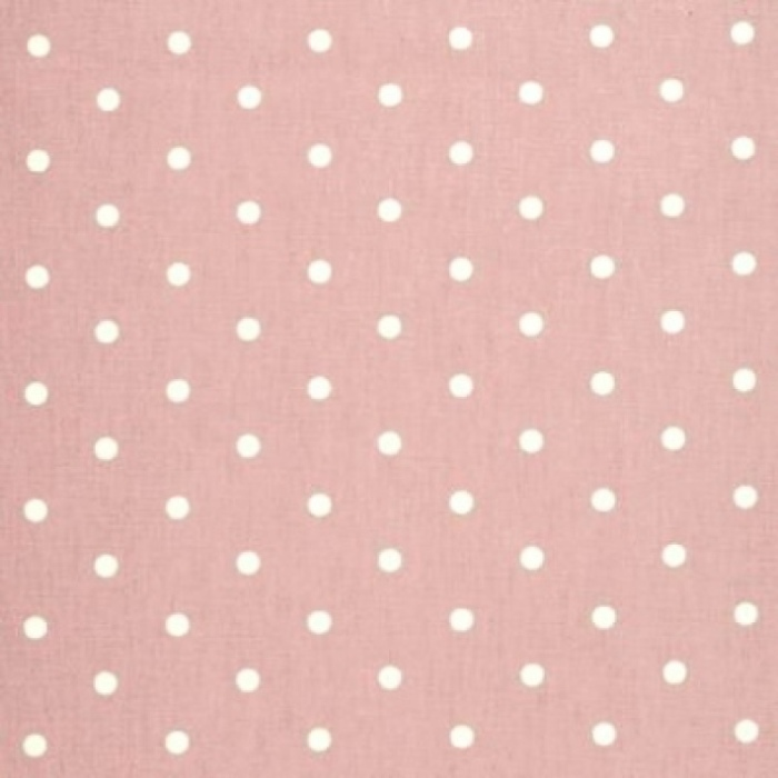 Curtains Dotty Rose