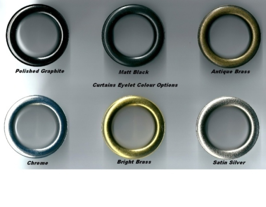 Eyelet Colour Options