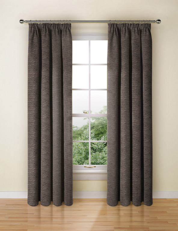 Pulse Velvet Charcoal Made To Measure Curtains