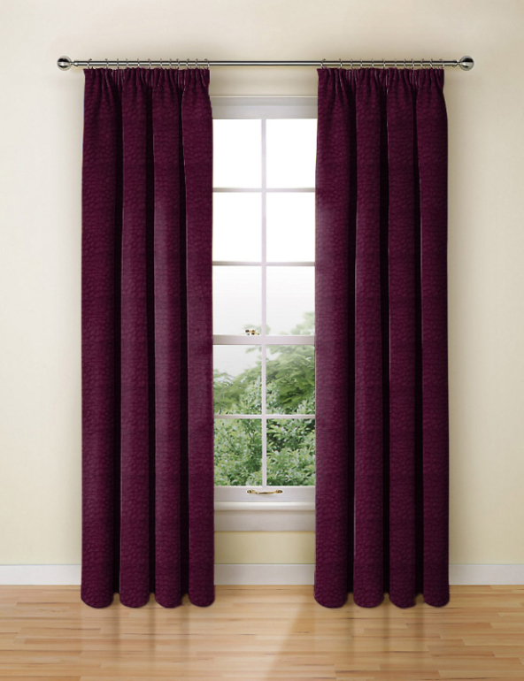 Pulse Velvet Claret Made To Measure Curtains