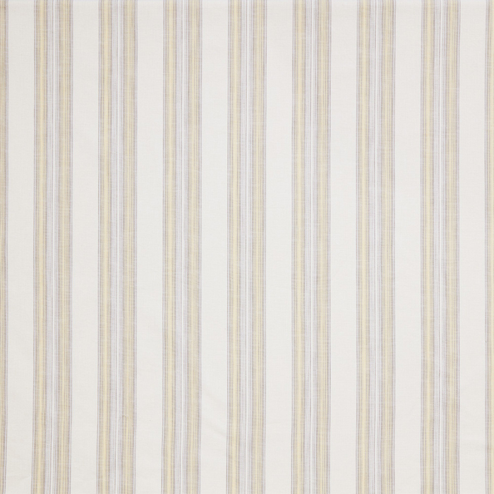 Made To Measure Curtains Barley Stripe Cornsilk Flat Image