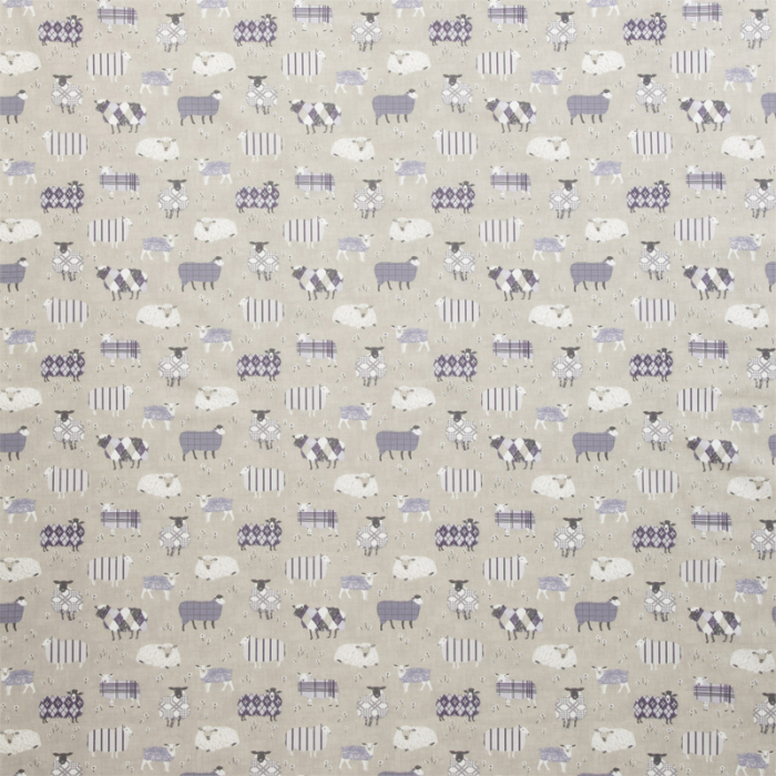 Made To Measure Roman Blinds Baa Baa Lavender Flat Image