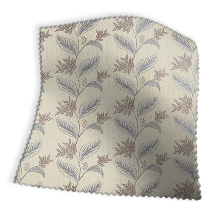 Made To Measure Roman Blinds Berry Vine Dove Swatch