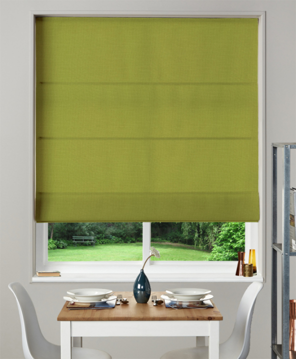 Made To Measure Roman Blind Nantucket Palm 1