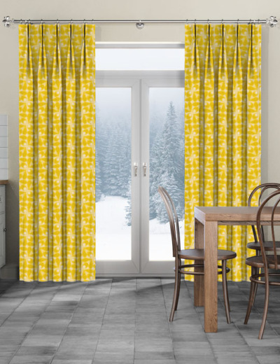 Made To Measure Curtains Woven Acorn Cup Dandelion