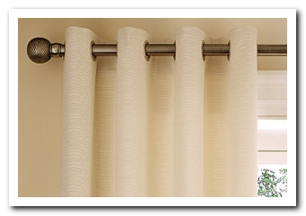 Eyelet Curtain Header