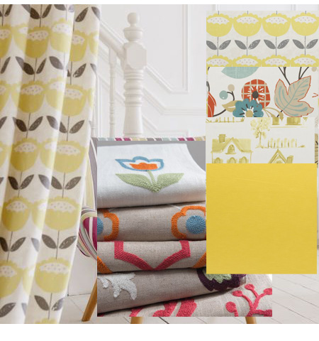 Made To Measure Curtains Yellows Oramges
