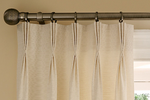 Hand Formed Pinch Pleat Curtains