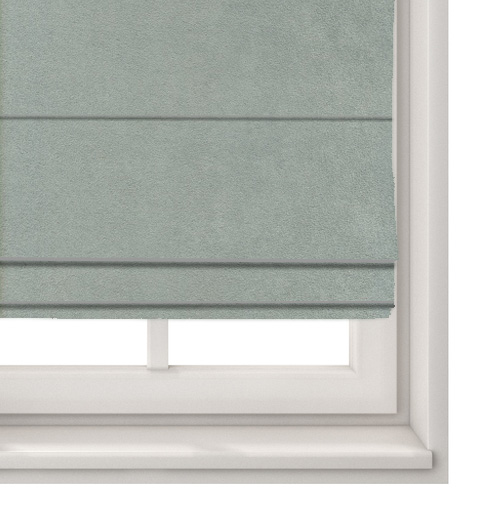Suede Grey Roman Blind
